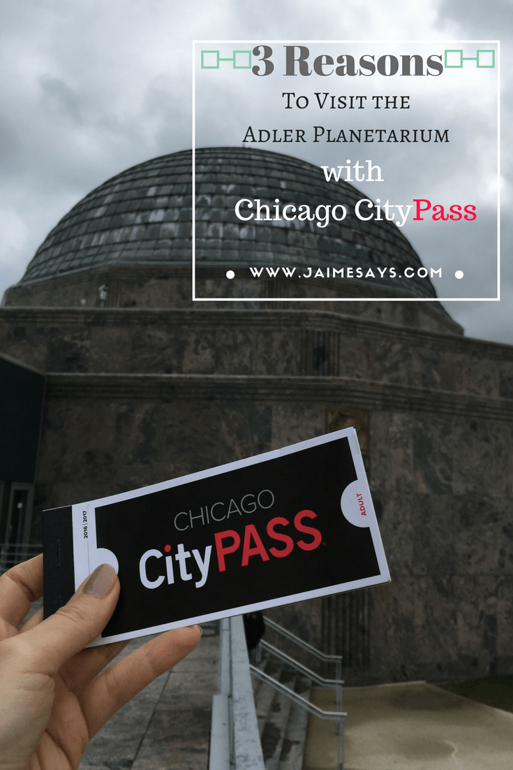 Chicago CityPass: Adler Planetarium or the Art Institute?