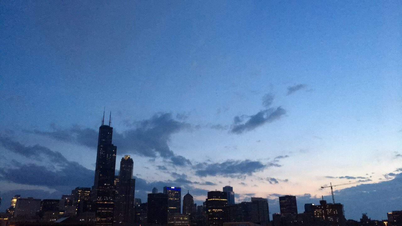Chicago at Sunrise