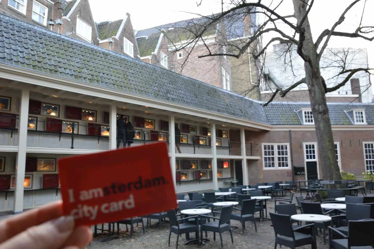 IAmsterdam City Card at the Amsterdam City Museum