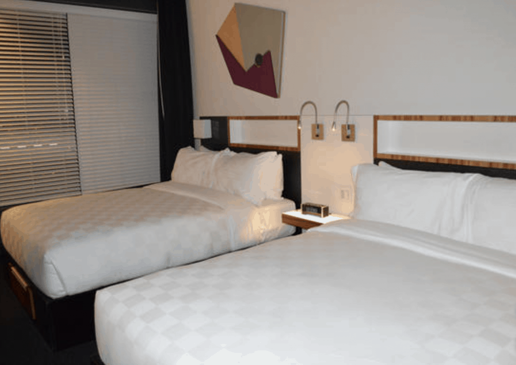 Hotel Review Alt Hotel Montréal Griffintown Bedroom | where to stay in Montréal | condo in Montréal