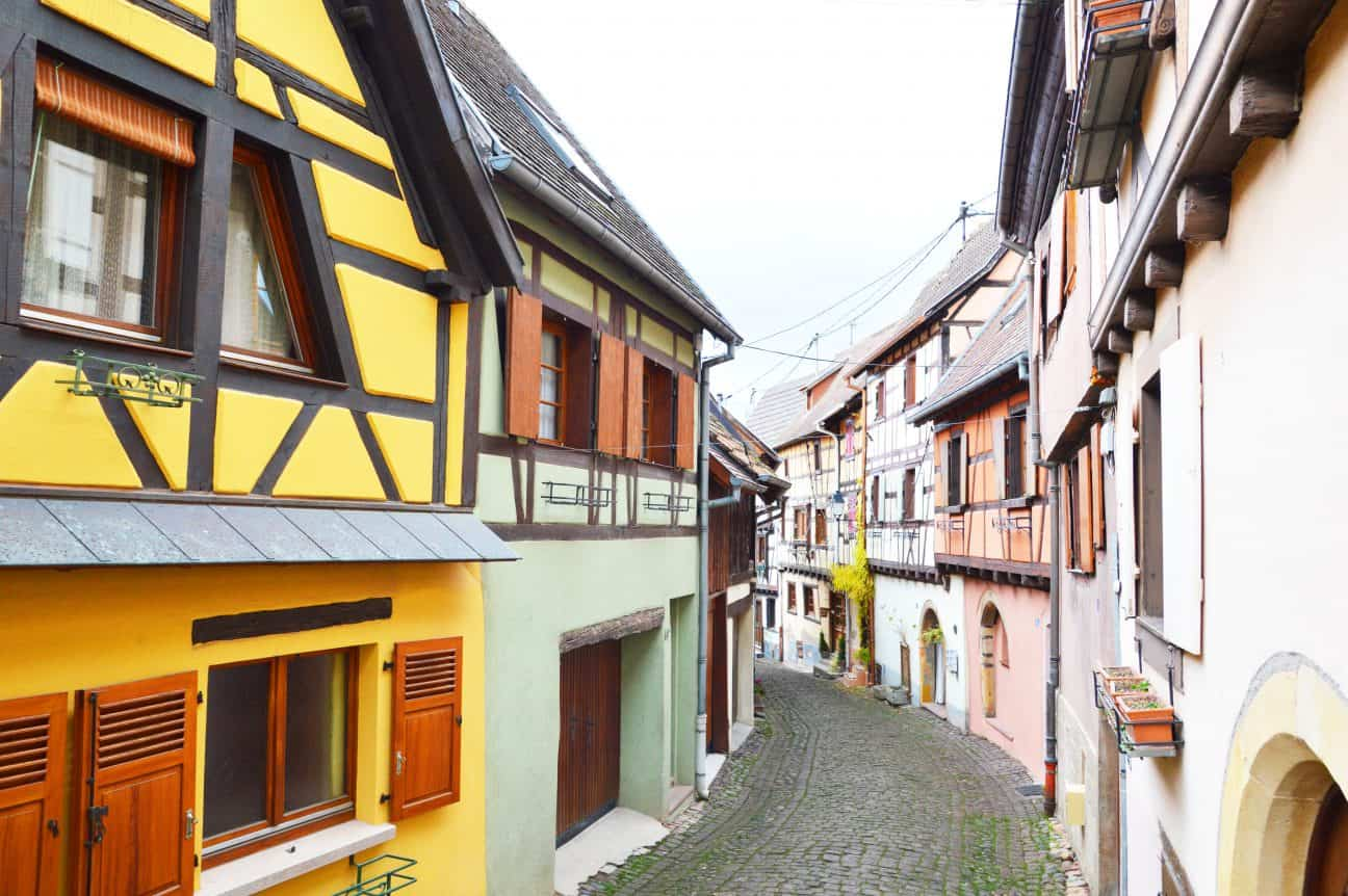 Winter is the best time to visit Alsace! Alsace without a car