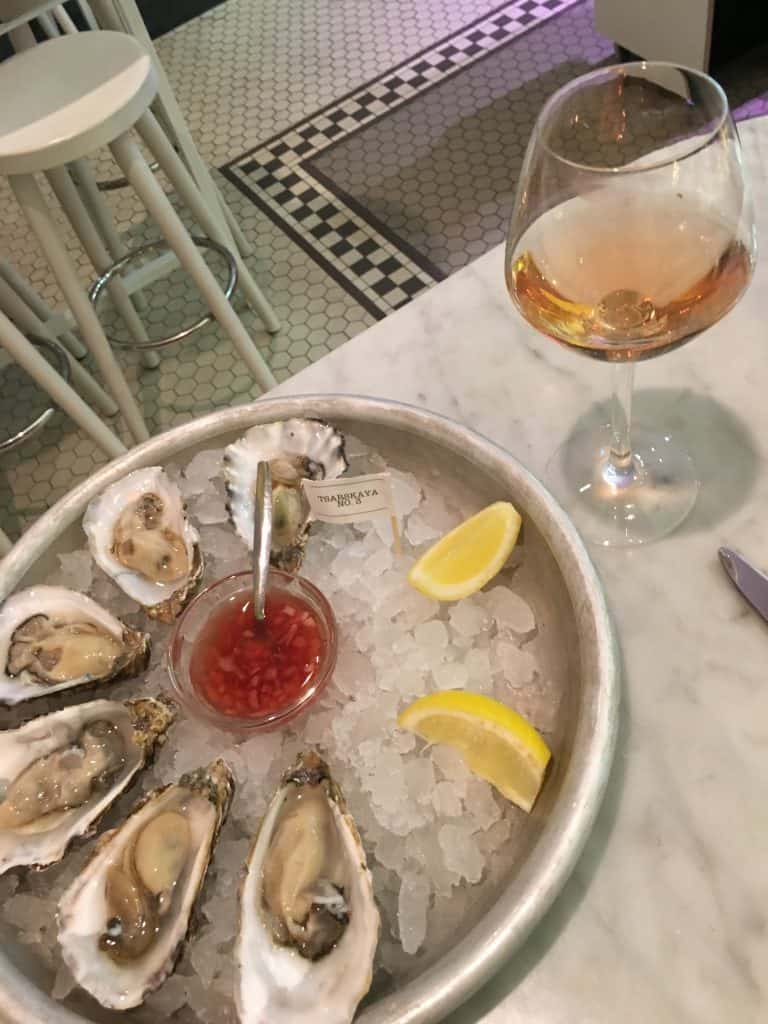 The Seafood Bar | Travel Blogger | Quiet Travel | Solo Dining in Amsterdam: Where to go DIning Alone