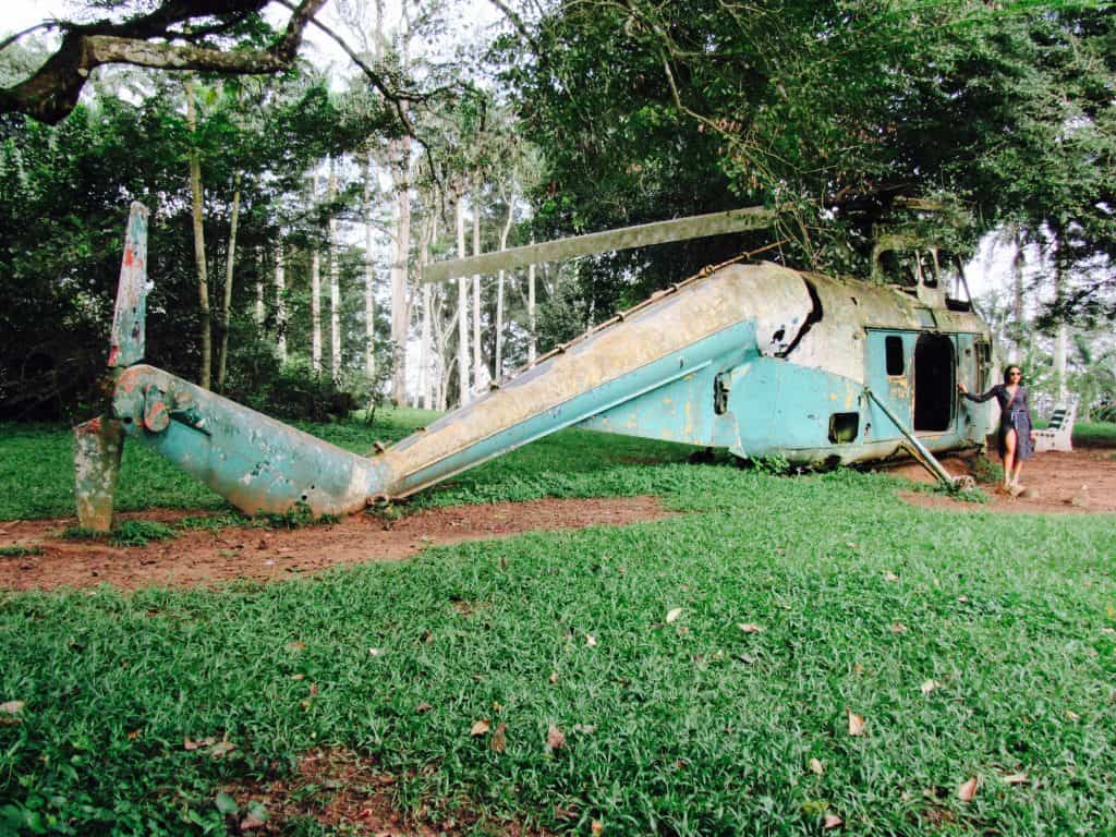 Abandoned places near me| abandoned places to explore near me | JaimeSays Travel and Lifestyle Blogger | Abandoned Helicopter in Ghana
