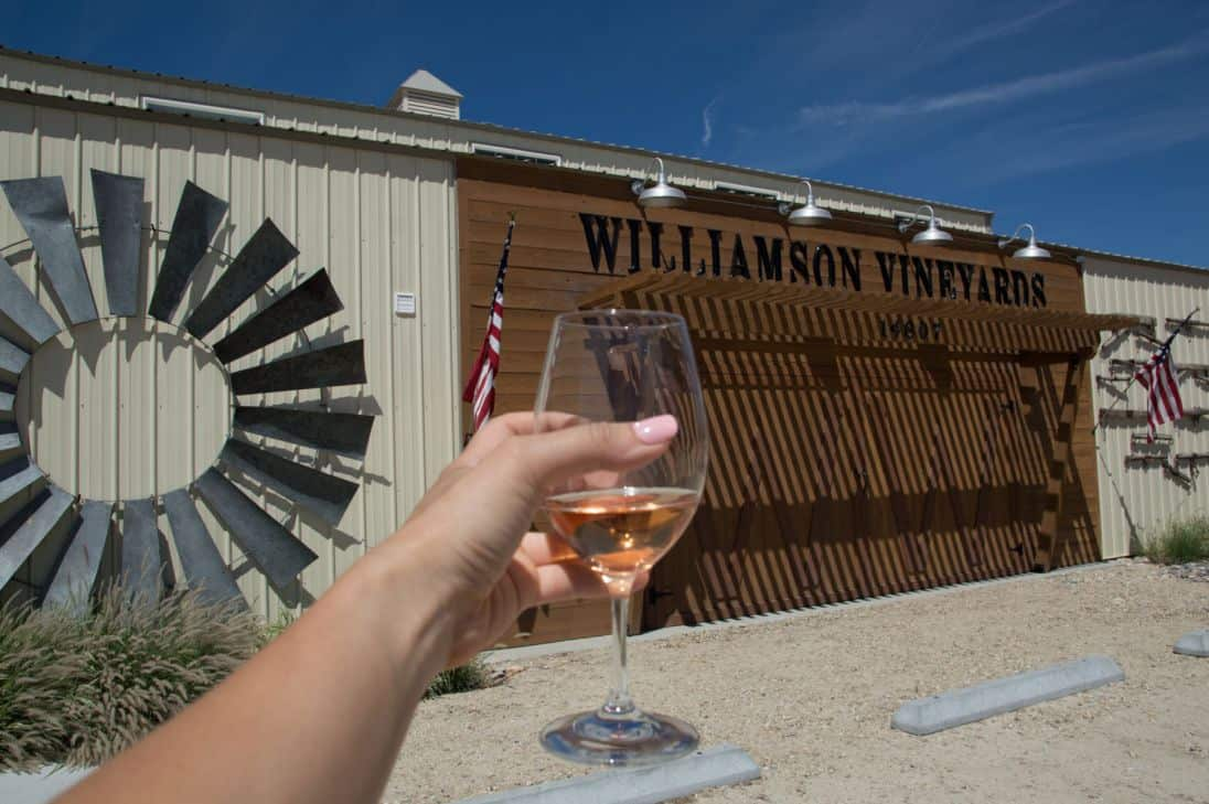 What to expect on the Sunnyslope wine trail outside of Boise, Idaho, in Caldwell, Idaho. This is Williamson Vineyards