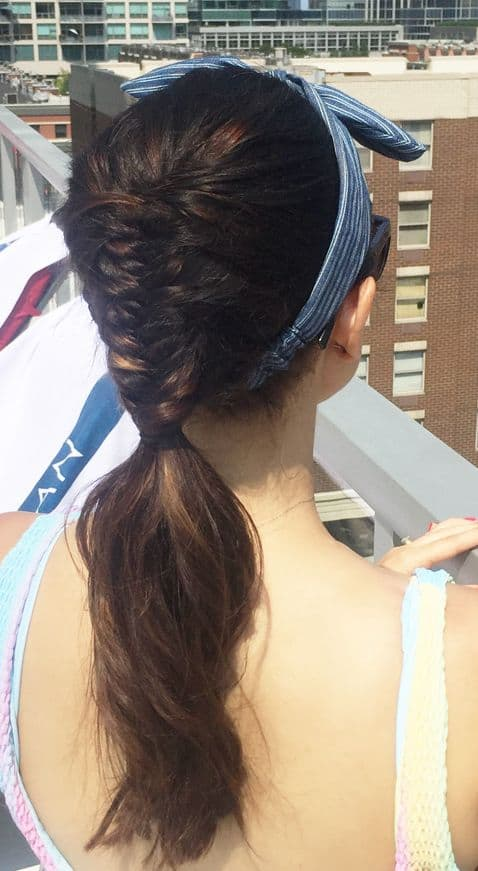 Chicago Blogger | Cute hairstyles for barbeques by Travel Blogger Jaime Says
