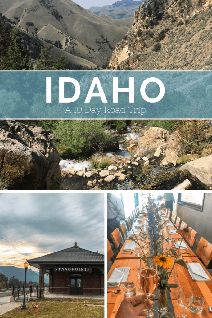 Considering a #roadtrip to Idaho? Check out this 10 day Road trip of our honeymoon in Idaho. Our Idaho Roadtrip Honeymoon Itinerary : 10 Blissful Days and 1000 Miles of Idaho Scenic Byways