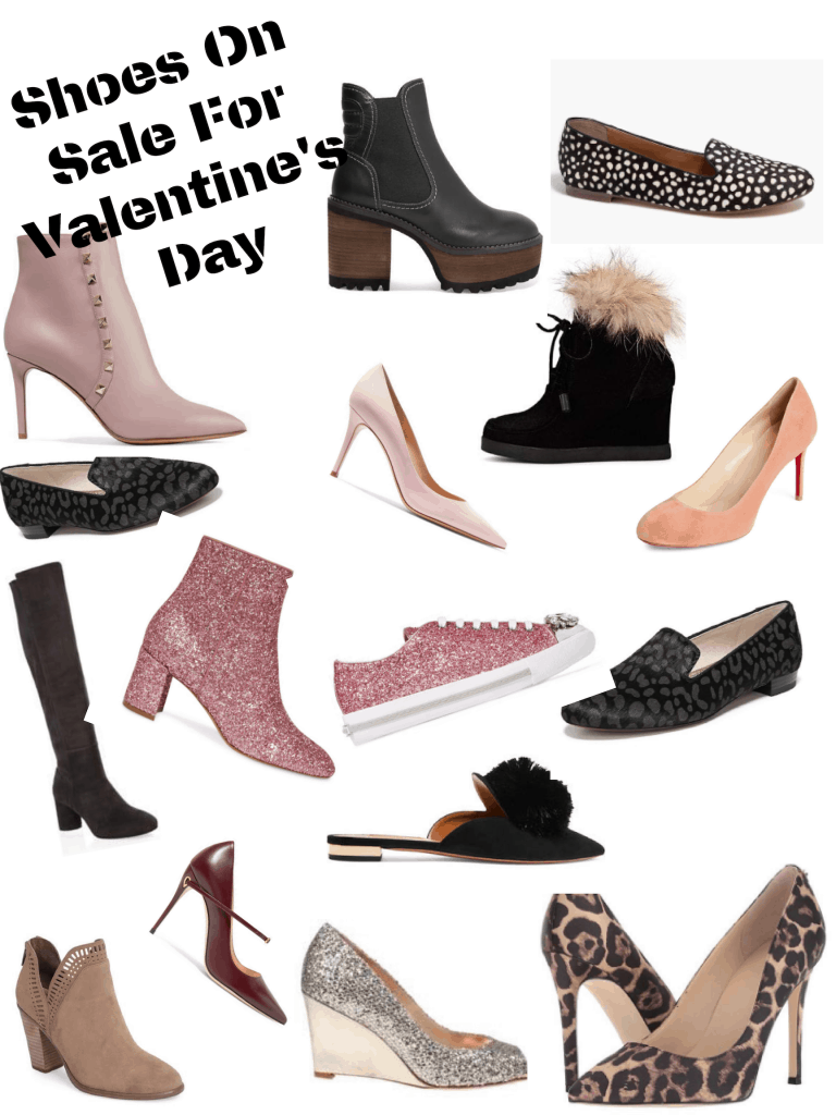 Shoes on Sale for Valentine's Day