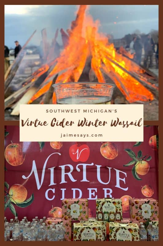 What is a Wassail Festival? Learning how to Winter Wassail at Virtue Cider