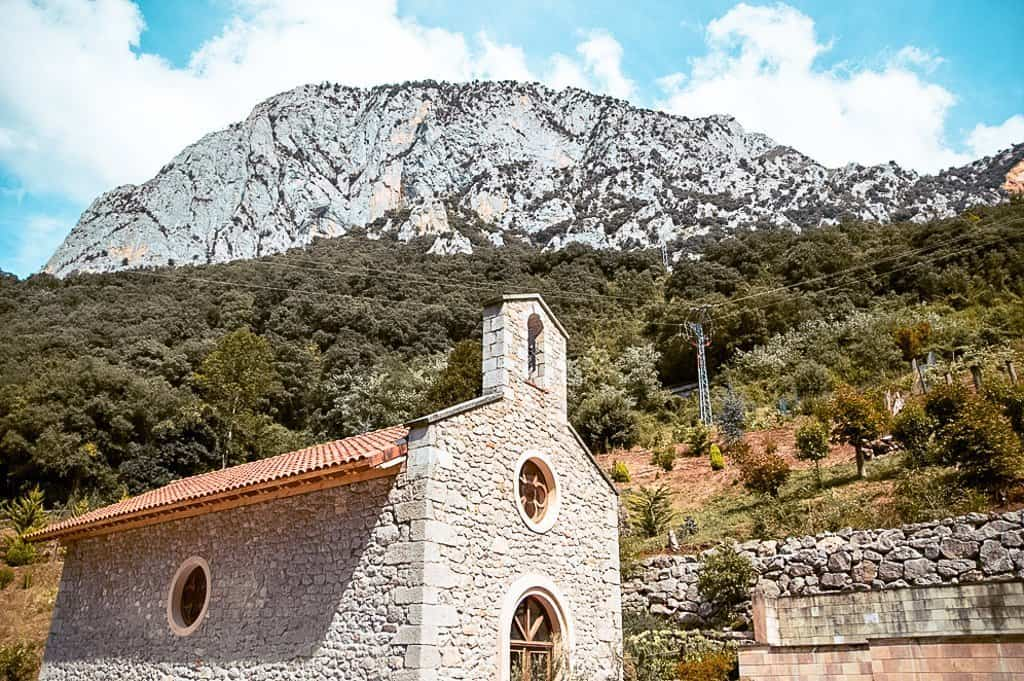 La Hermida Chapel on the way to Potes