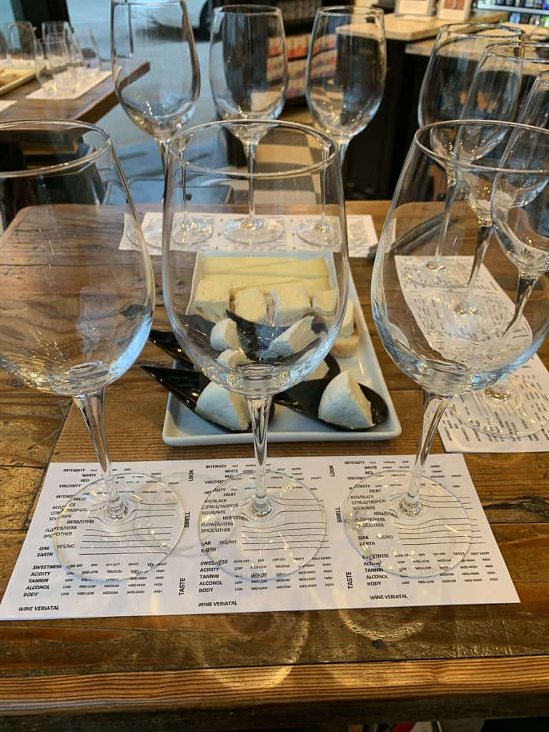 Blind Wine Tasting experience at Marché Glen Ellyn