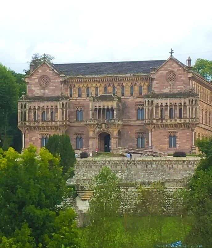 The Palacio de Sobrellano in Comillas