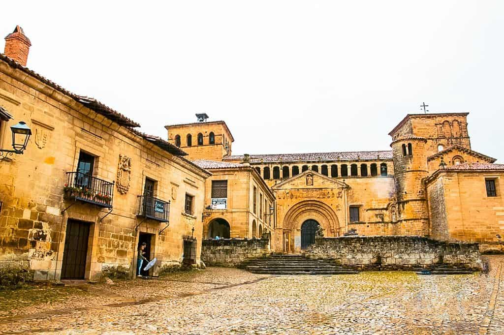 The Church of Santillana del Mar