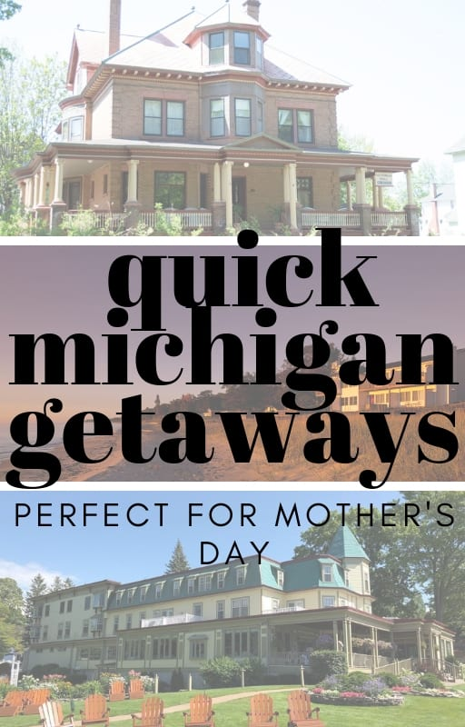 Quick Michigan Getaway Pin