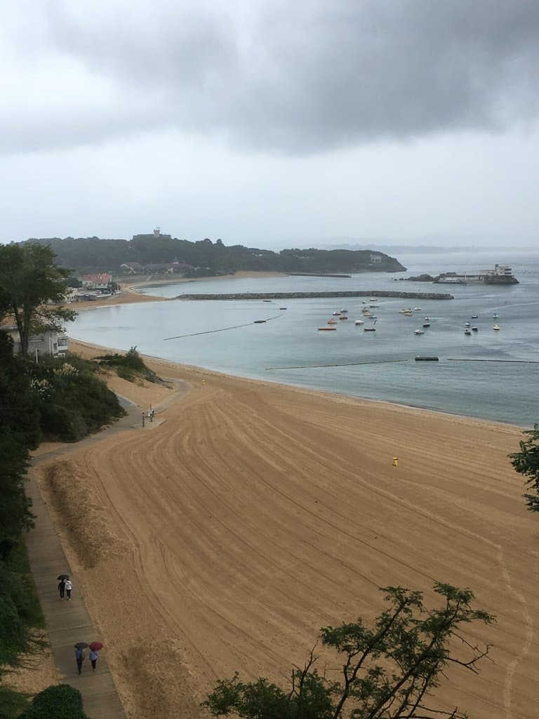 Seaside in Santander