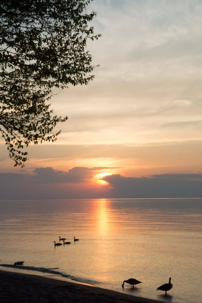 A weekend in Northern Michigan requires a sunset