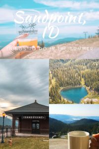 Looking for things to do in Sandpoint, Idaho this summer? Check out these 16 ideas!