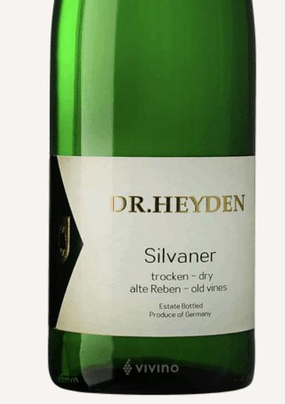 Dr Heyden Sylvaner Wine