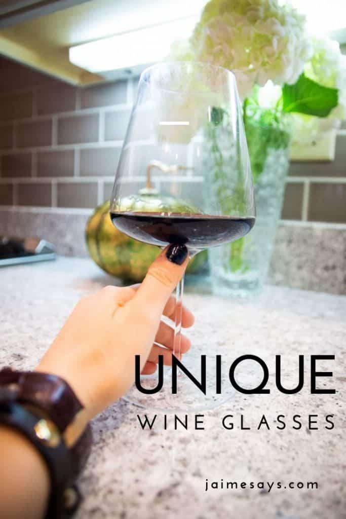 Unique Wine Glass Pin