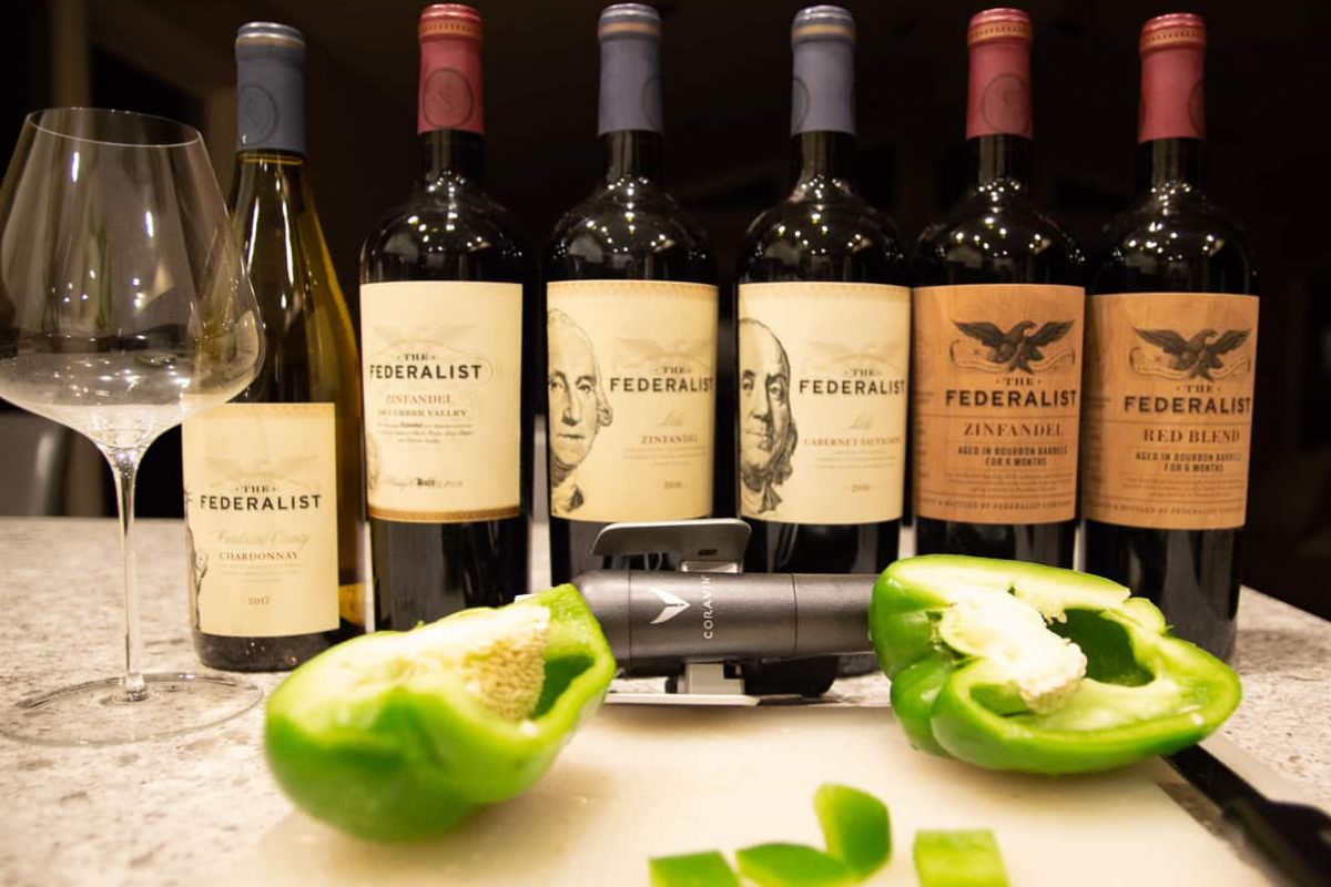 zinfandel with the federalist wines