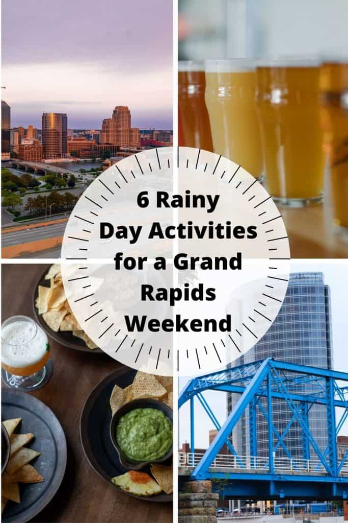 Rainy Grand Rapids Weekend pin